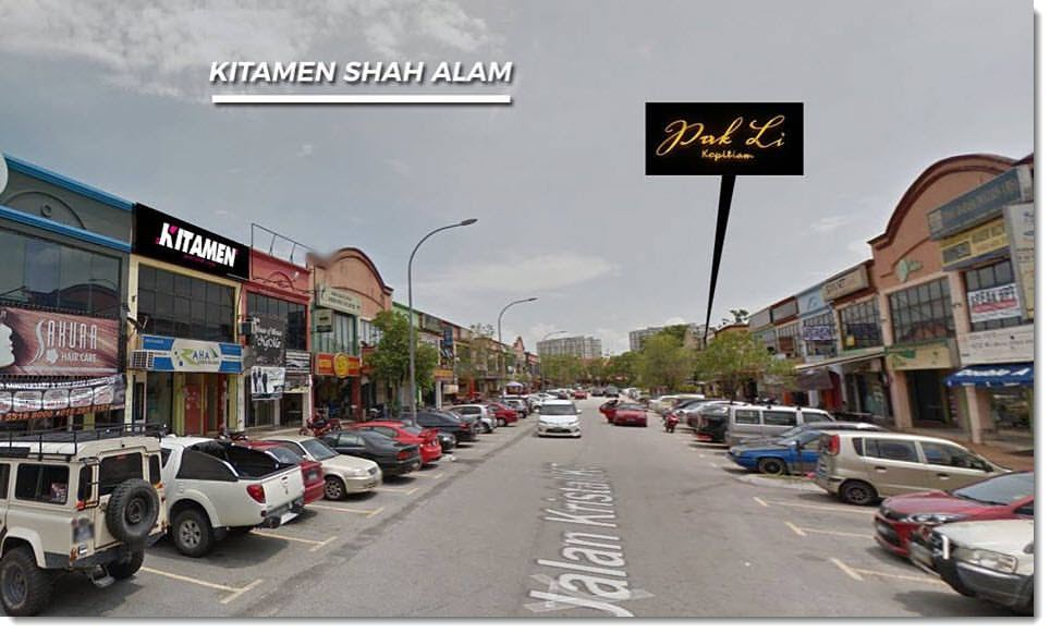 Kitamen Shah Alam location