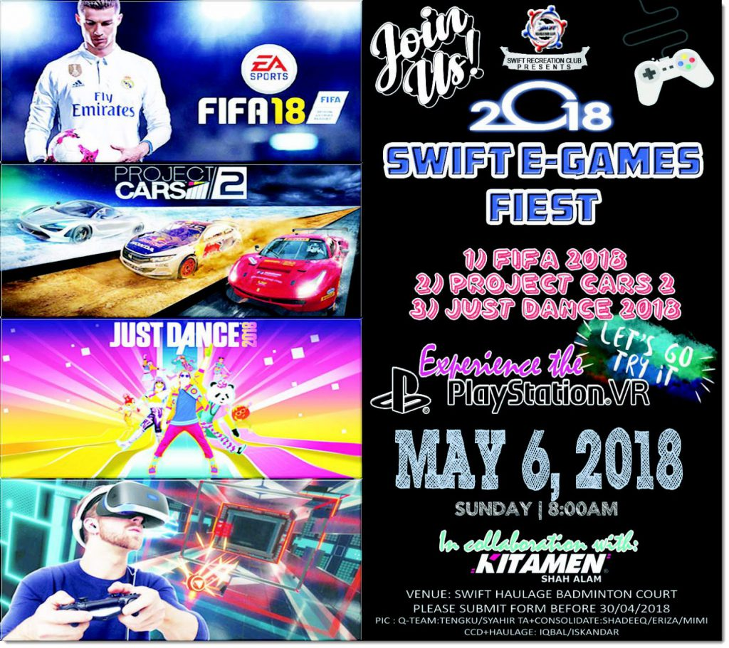 Swift E-Games Poster