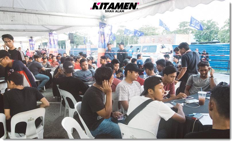 mobile legends tournament at senawang with kitamen shah alam