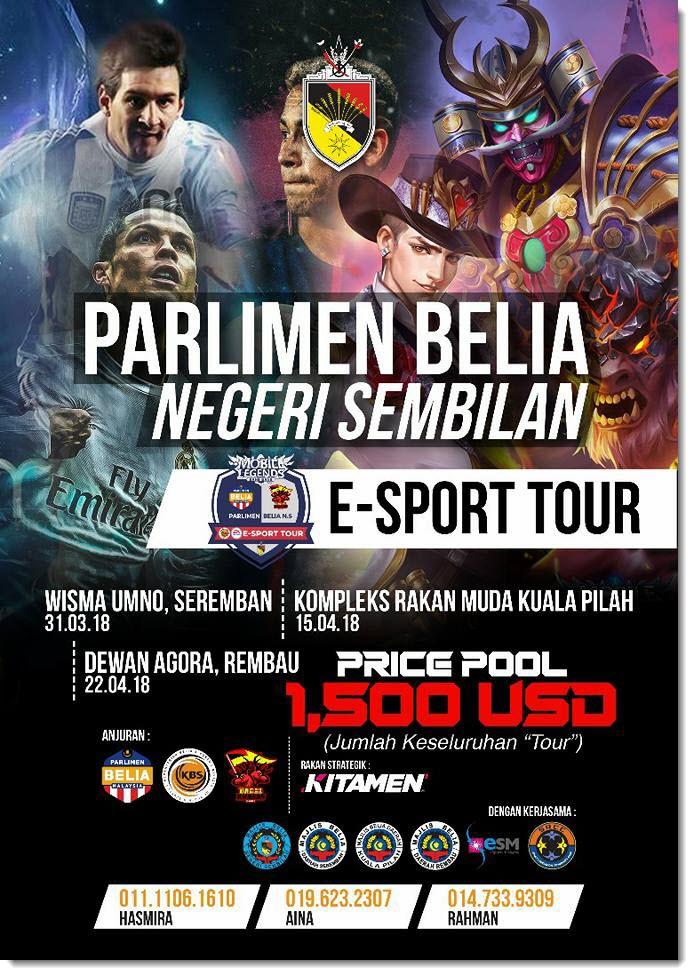 Nergeri Sembilan eSport Tour Poster