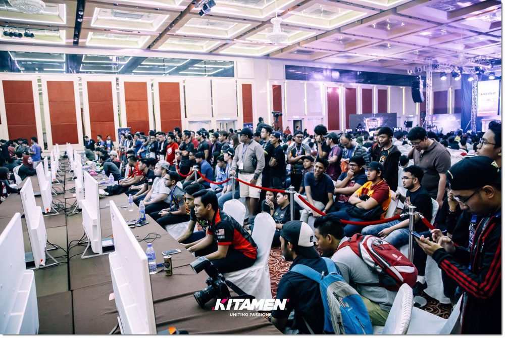 The event crowd Malaysia Cyber games 2017