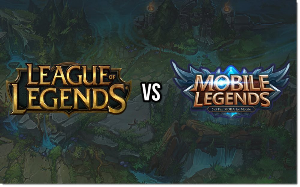 Mobile legends vs league of legends