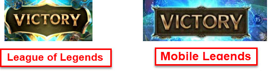 victory logo similarity
