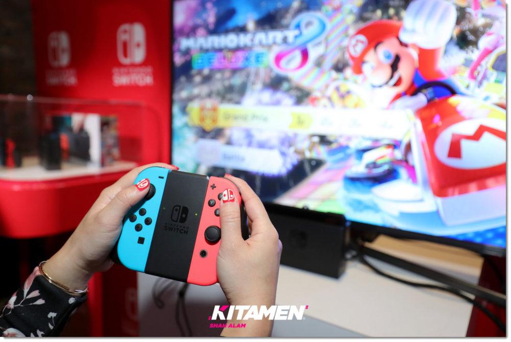 Nintendo switch Kitamen shah alam