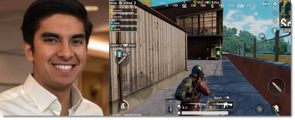 syed saddiq pubg issue