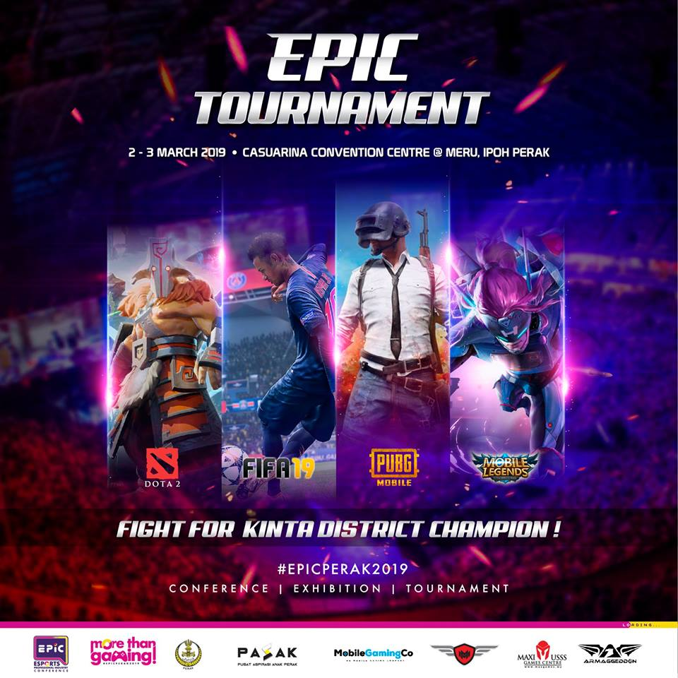 Epic perak tournament poster
