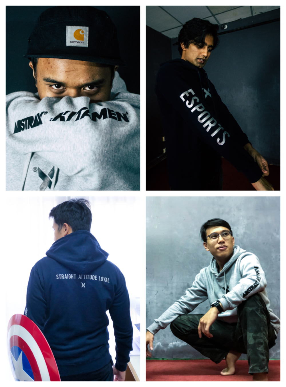 Individual photos collage