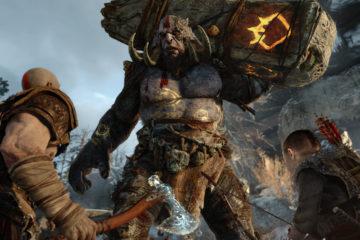 god of war 4 kratos and son