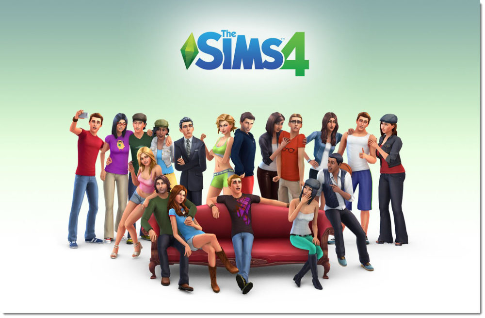 the sims 4 cover image