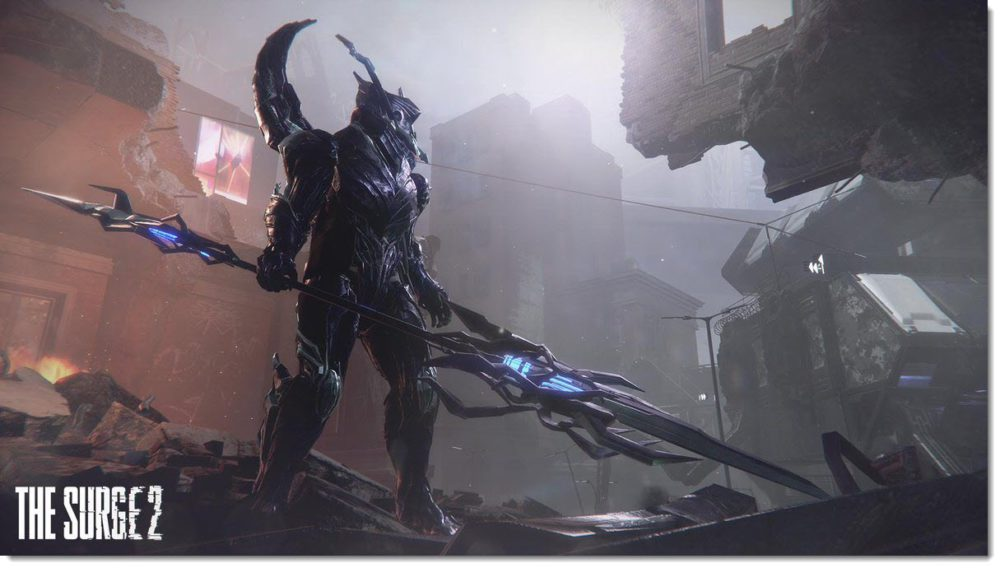 the surge 2 spear dude